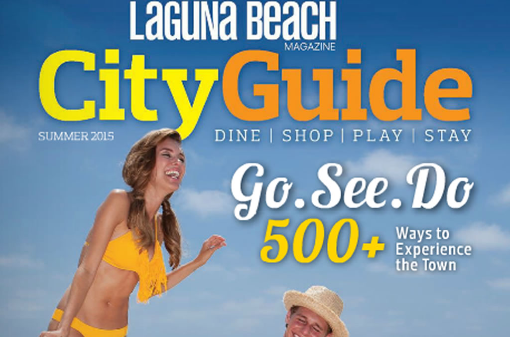 Laguna Beach city guide cover